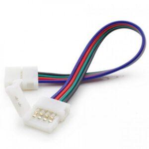 Conector Flexibil Prelungire Banda Cu LED-Uri RGB