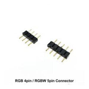 Conector RGBW 5 Pini (3buc)