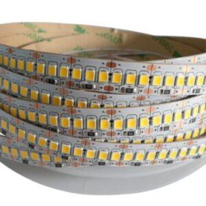 Banda LED 2835 Alb Cald, 240led/M, 14.4w/M, Rola 5m