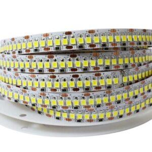 Banda LED 2835 Alb Rece, 240led/M, 14.4w/M, Rola 5m