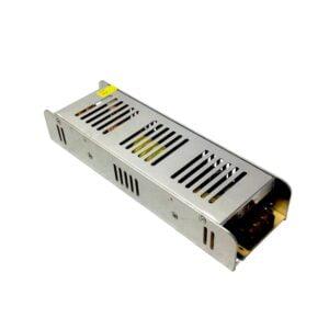 Transformator slim 222x68x40 mm de la 220v la 12v, 250w, 20.8Amperi pentru interior, ip20