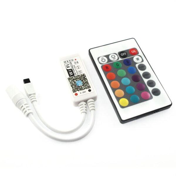 Controller WIfi RGBW Arilux SL-LC04, Compatibil Alexa si Google Home