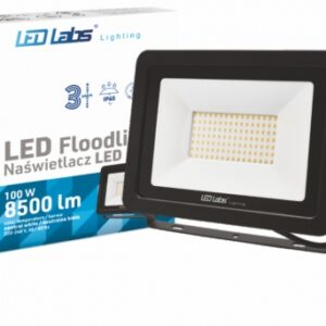 Reflector LED SLIM 3Y 100W Alb Natural IP65